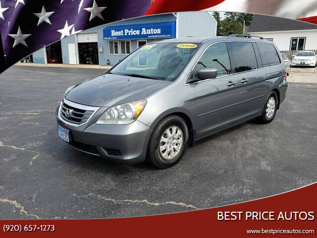 2009 Honda Odyssey for sale at Best Price Autos in Two Rivers WI