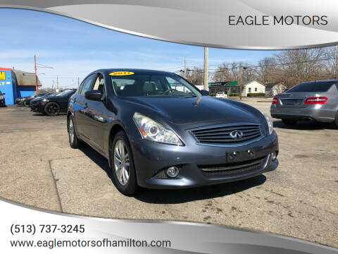 2011 Infiniti G37 Sedan for sale at Eagle Motors in Hamilton OH