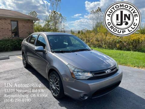 2010 Ford Focus for sale at IJN Automotive Group LLC in Reynoldsburg OH