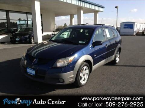 2003 Pontiac Vibe for sale at PARKWAY AUTO CENTER AND RV in Deer Park WA
