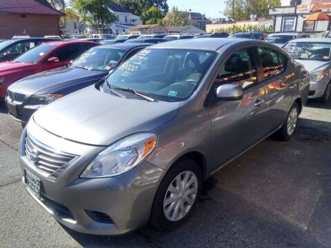 2012 Nissan Versa for sale at Wilson Investments LLC in Ewing NJ