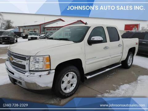 2013 Chevrolet Silverado 1500 for sale at Johnson's Auto Sales Inc. in Decatur IN