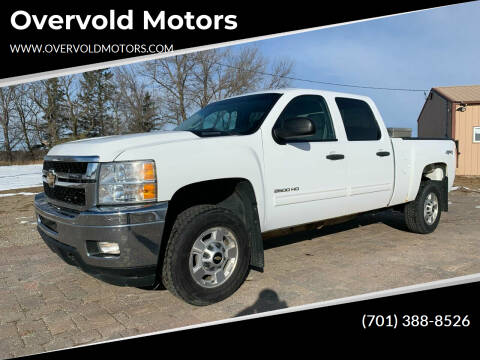 2012 Chevrolet Silverado 2500HD for sale at Overvold Motors in Detriot Lakes MN