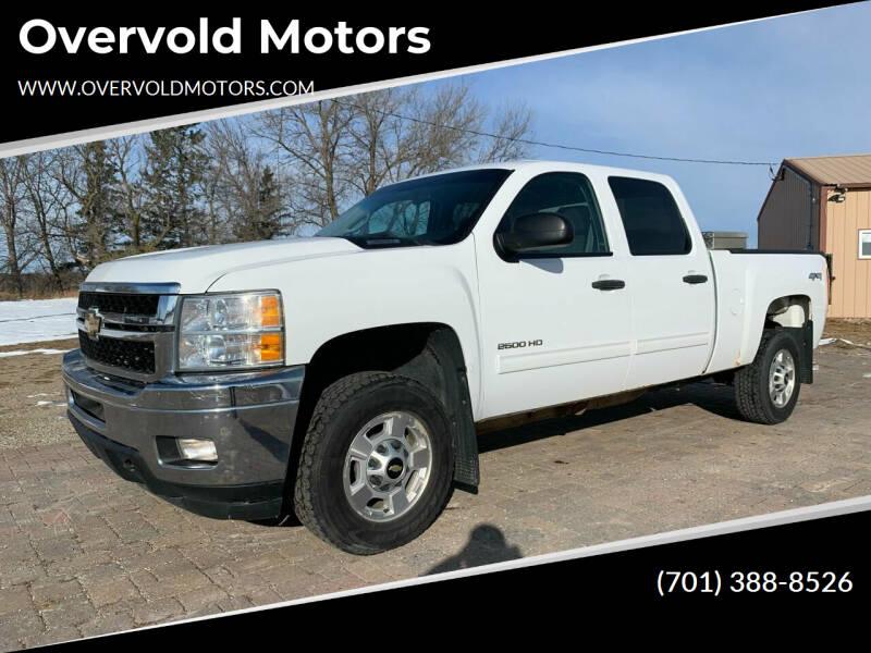 2012 Chevrolet Silverado 2500HD for sale at Overvold Motors in Detriot Lakes MN