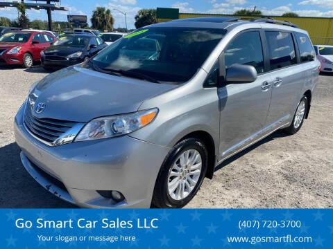 2016 Toyota Sienna for sale at Go Smart Car Sales LLC in Winter Garden FL