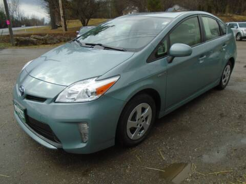 2015 Toyota Prius for sale at Wimett Trading Company in Leicester VT