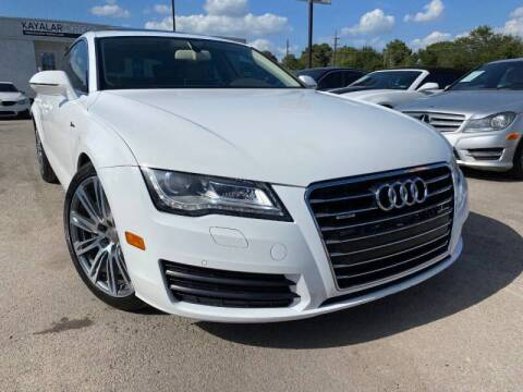 2012 Audi A7 for sale at KAYALAR MOTORS in Houston TX