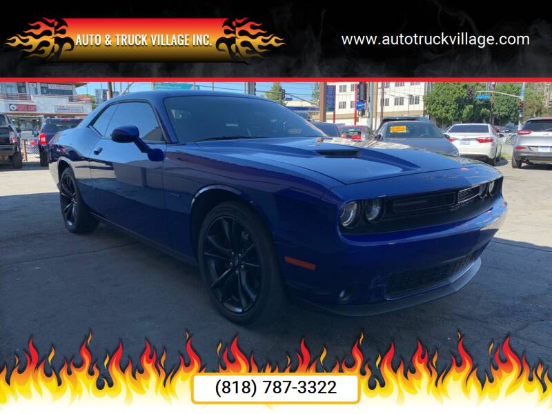 2018 Dodge Challenger for sale at Auto & Truck Village Inc. in Van Nuys CA