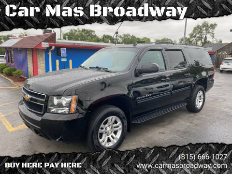 2014 Chevrolet Suburban for sale at Car Mas Broadway in Crest Hill IL