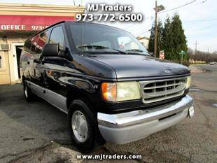 2002 Ford E-Series Wagon for sale at M J Traders Ltd. in Garfield NJ