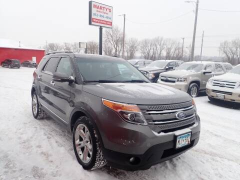 2013 Ford Explorer for sale at Marty's Auto Sales in Savage MN