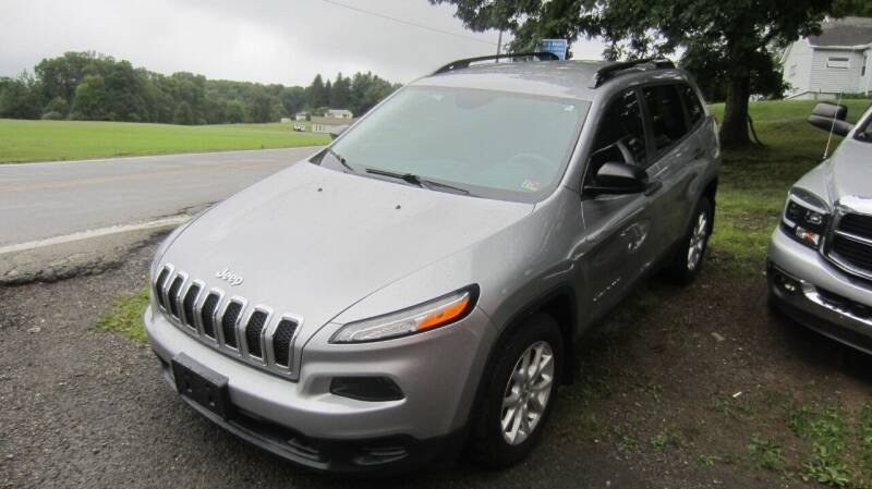 2016 Jeep Cherokee for sale at Auto Outlet of Morgantown in Morgantown WV