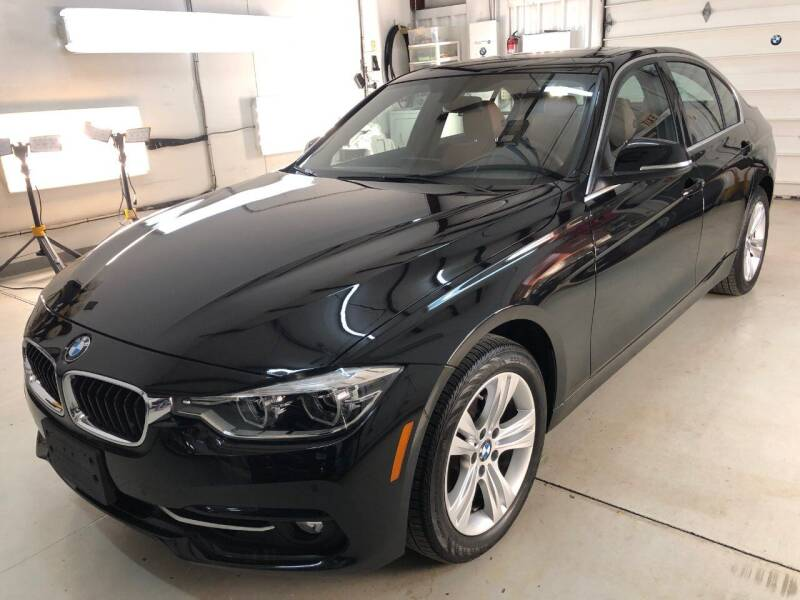 2017 BMW 3 Series for sale at BAVARIAN AUTOGROUP LLC in Kansas City MO