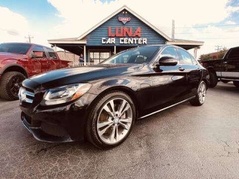 2017 Mercedes-Benz C-Class for sale at LUNA CAR CENTER in San Antonio TX