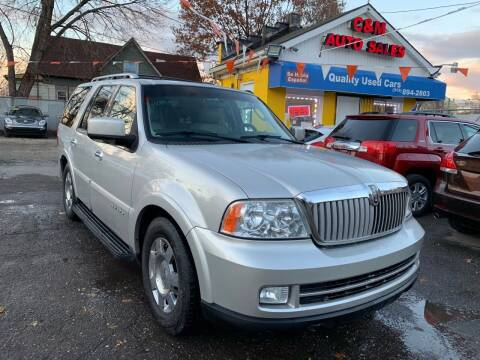 2006 Lincoln Navigator for sale at C & M Auto Sales in Detroit MI