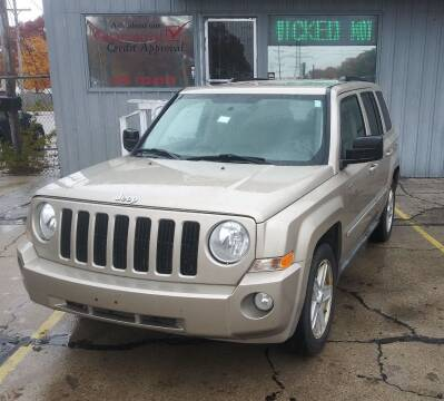2010 Jeep Patriot for sale at Wicked Motorsports in Muskegon MI