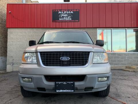 2003 Ford Expedition for sale at Alpha Motors in Chicago IL