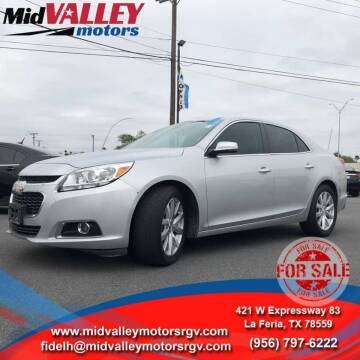 2016 Chevrolet Malibu Limited for sale at Mid Valley Motors in La Feria TX