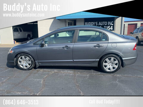 2009 Honda Civic for sale at Buddy's Auto Inc in Pendleton, SC