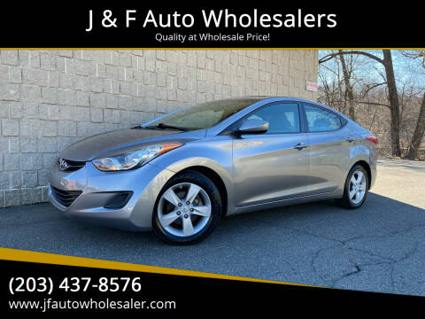2011 Hyundai Elantra for sale at J & F Auto Wholesalers in Waterbury CT