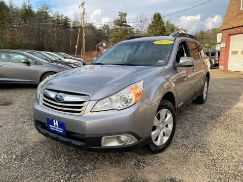 2011 Subaru Outback for sale at Hornes Auto Sales LLC in Epping NH