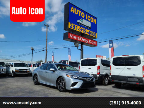 2020 Toyota Camry for sale at Auto Icon in Houston TX