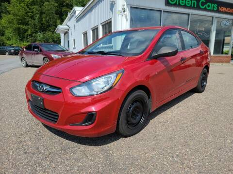 2012 Hyundai Accent for sale at Green Cars Vermont in Montpelier VT