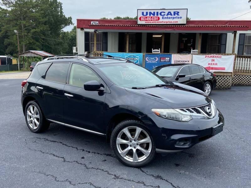 2012 Nissan Murano for sale at Unicar Enterprise in Lexington SC