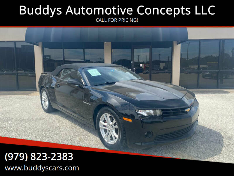 2015 Chevrolet Camaro for sale at Buddys Automotive Concepts LLC in Bryan TX