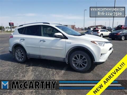 2018 Toyota RAV4 Hybrid for sale at Mr. KC Cars - McCarthy Hyundai in Blue Springs MO