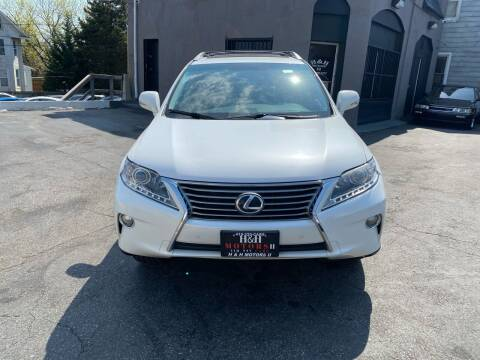 2013 Lexus RX 350 for sale at H & H Motors 2 LLC in Baltimore MD