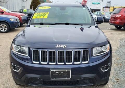 2014 Jeep Grand Cherokee for sale at Cape Cod Cars & Trucks in Hyannis MA
