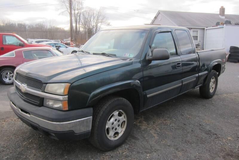 2004 Chevrolet Silverado 1500 for sale at K & R Auto Sales,Inc in Quakertown PA