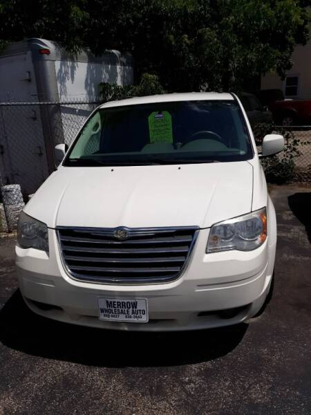2010 Chrysler Town and Country for sale at MERROW WHOLESALE AUTO in Manchester NH