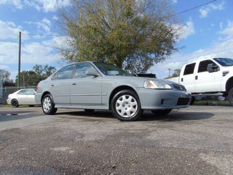 1999 Honda Civic for sale at Ratchet Motorsports in Gibsonton FL