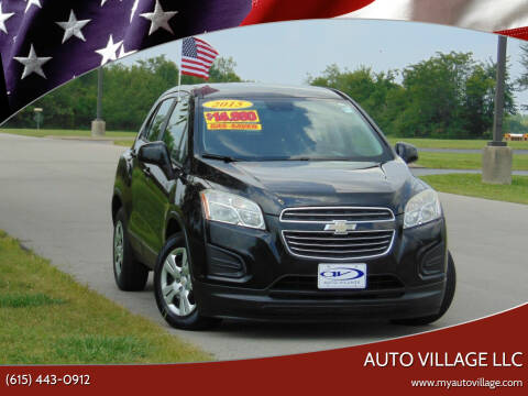 2015 Chevrolet Trax for sale at AUTO VILLAGE LLC in Lebanon TN