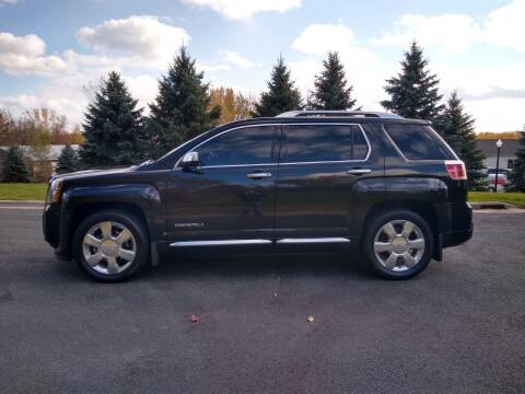 2013 GMC Terrain for sale at Thurk Bros Auto in St Bonifacius MN