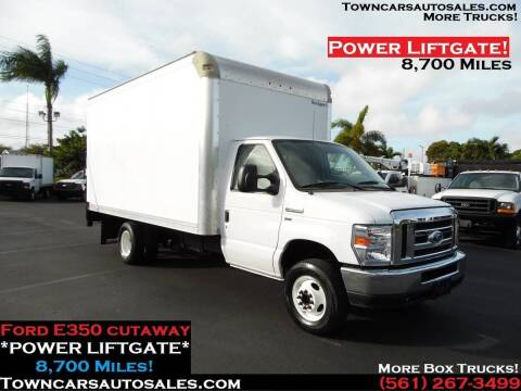 2018 Ford E-350 for sale at Town Cars Auto Sales in West Palm Beach FL