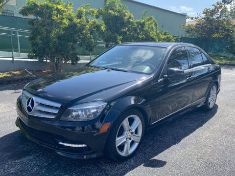 2011 Mercedes-Benz C-Class for sale at Meru Motors in Hollywood FL