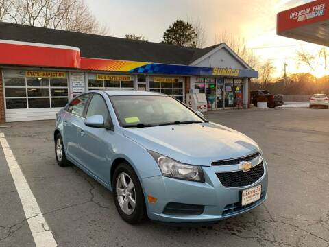 2012 Chevrolet Cruze for sale at Gia Auto Sales in East Wareham MA