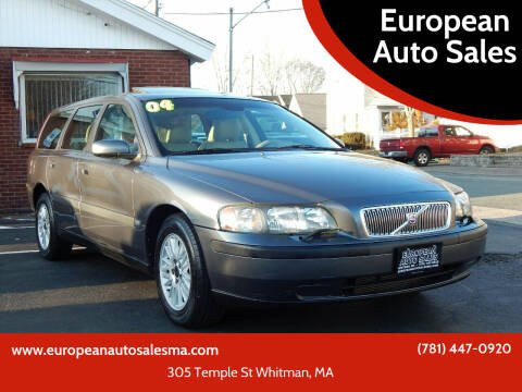 2004 Volvo V70 for sale at European Auto Sales in Whitman MA