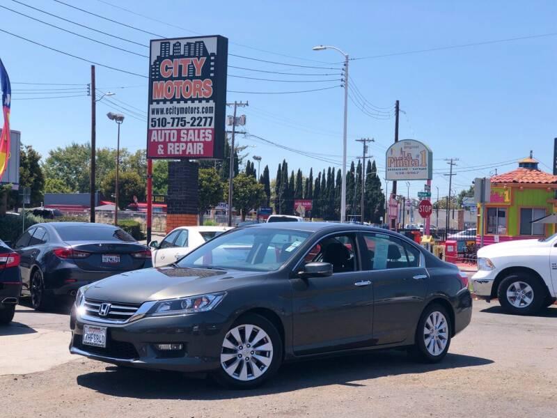 2014 Honda Accord for sale at City Motors in Hayward CA