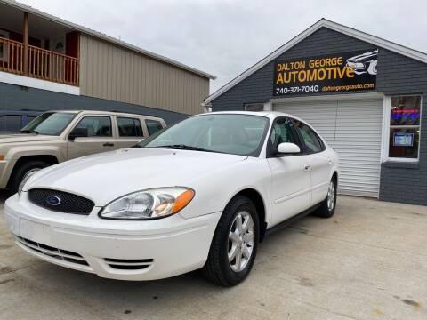 2006 Ford Taurus for sale at Dalton George Automotive in Marietta OH
