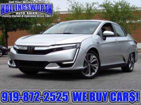 2018 Honda Clarity Plug-In Hybrid for sale at Hollingsworth Auto Sales in Raleigh NC