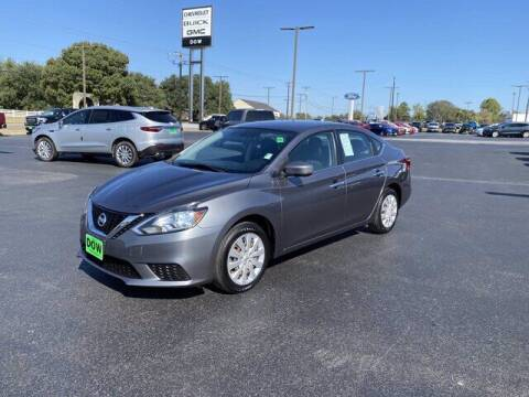 2016 Nissan Sentra for sale at DOW AUTOPLEX in Mineola TX