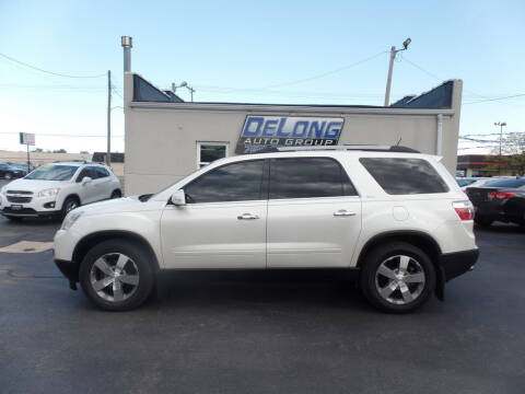 2011 GMC Acadia for sale at DeLong Auto Group in Tipton IN