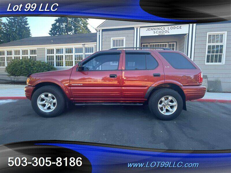2000 Isuzu Rodeo for sale at LOT 99 LLC in Milwaukie OR