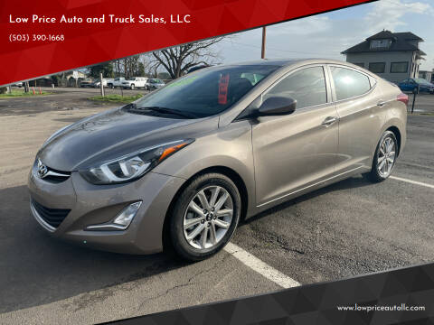 2015 Hyundai Elantra for sale at Low Price Auto and Truck Sales, LLC in Brooks OR