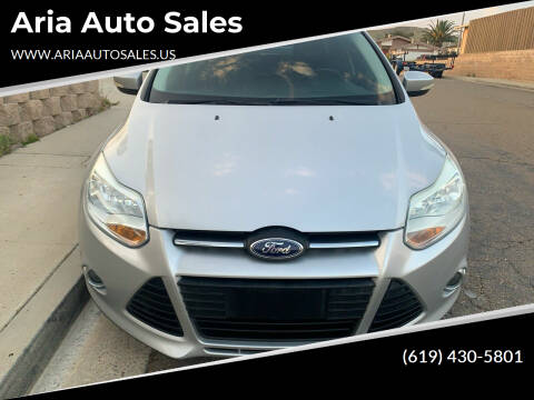 2013 Ford Focus for sale at Aria Auto Sales in El Cajon CA