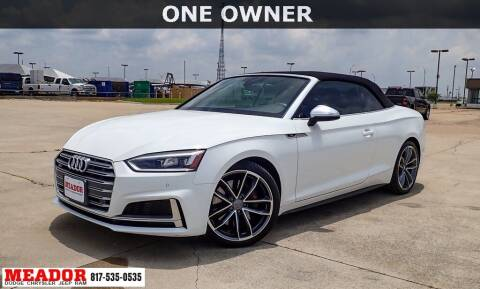 2018 Audi S5 for sale at Meador Dodge Chrysler Jeep RAM in Fort Worth TX